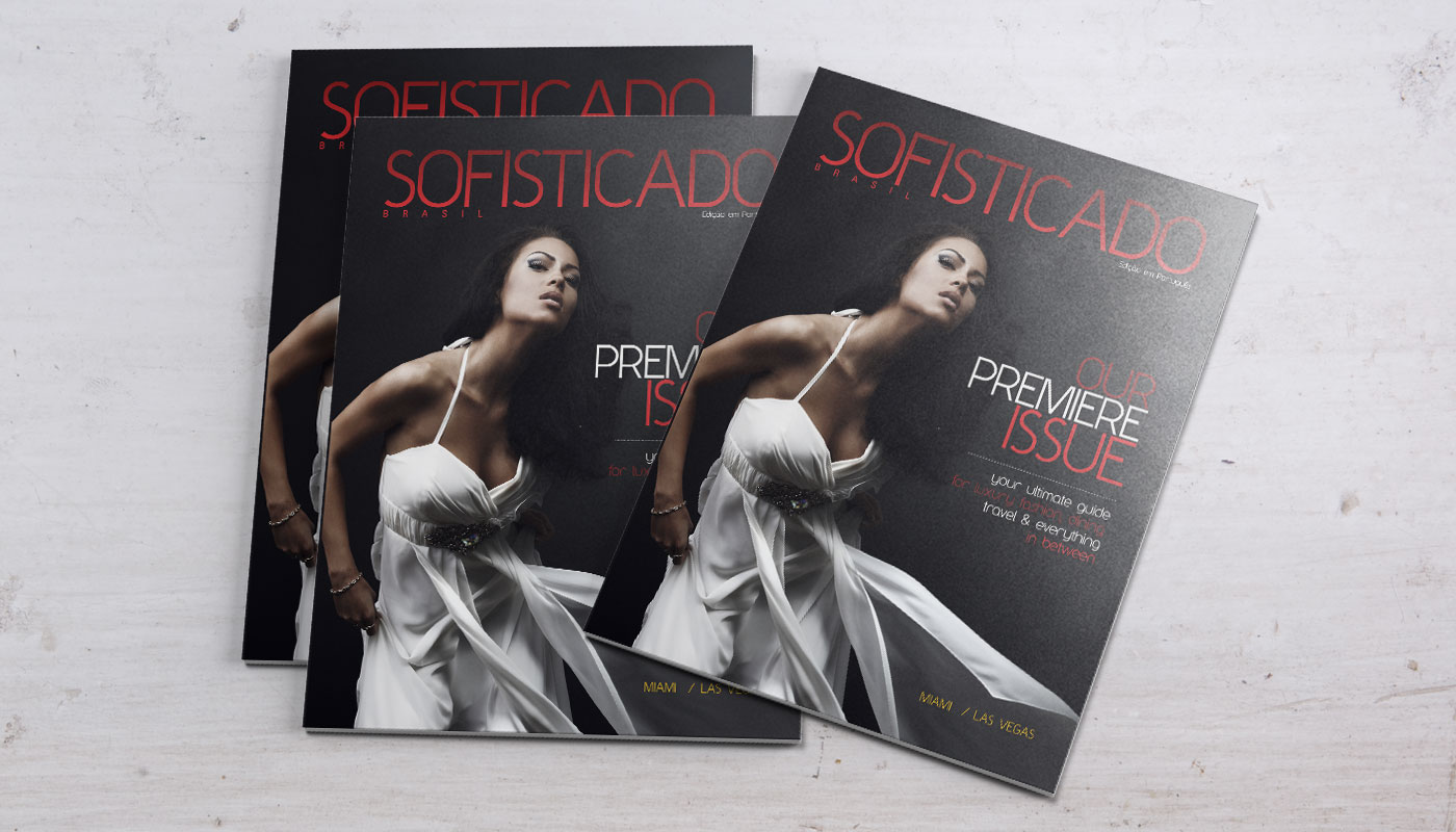 Sofisticado magazine cover