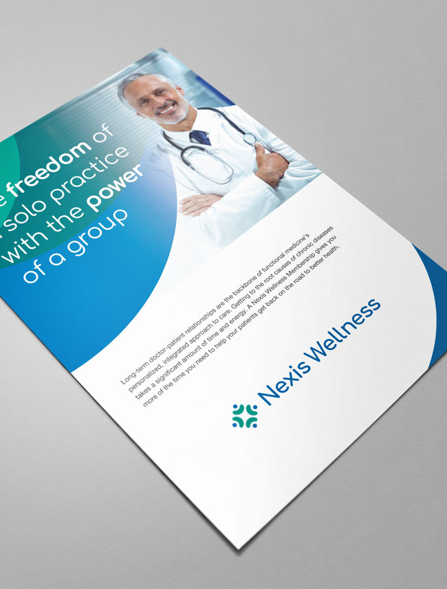 Nexis Wellness flyer
