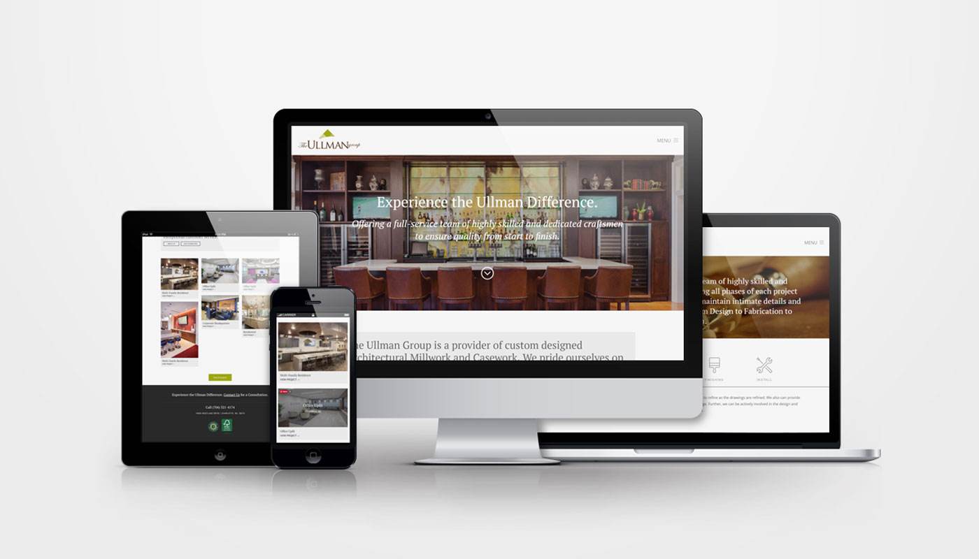 The Ullman Group responsive website design