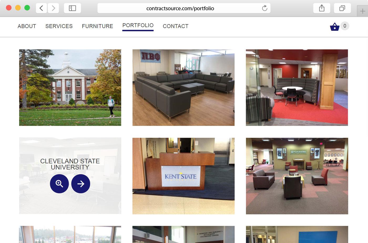 Contract Source Inc ecommerce website