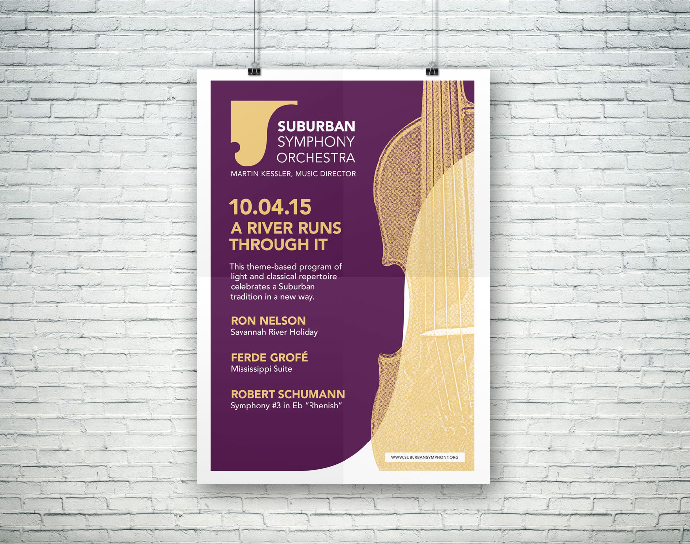Suburban Symphony Orchestra poster