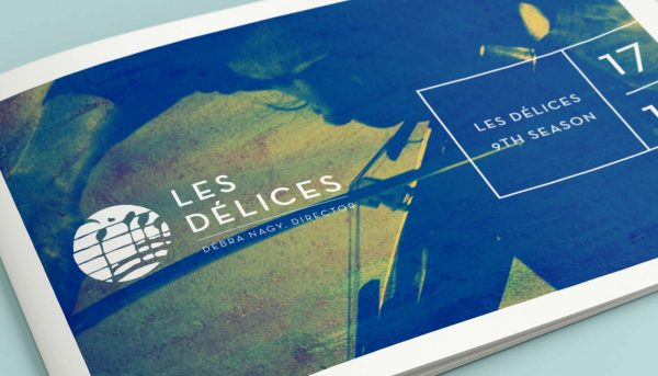 Les Delices marketing collateral
