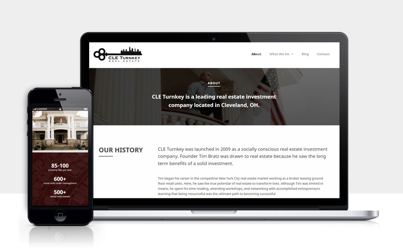 CLE Turnkey responsive design