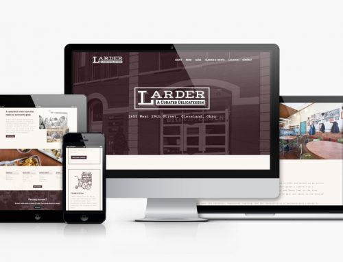 Larder Delicatessen and Bakery Website