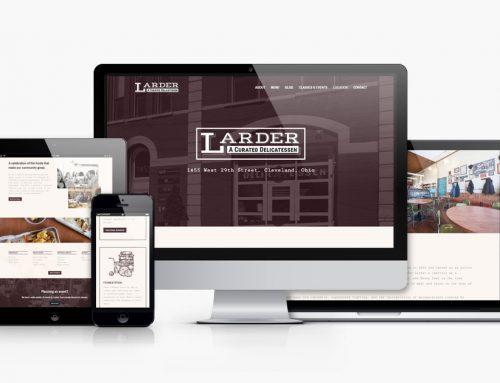 Larder Delicatessen and Bakery Website