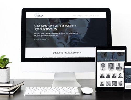 Exactus Advisors Website