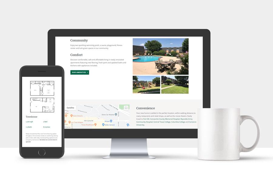 Crosby Park Apartments website