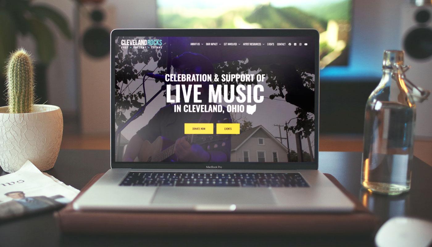 Cleveland Rocks: Past, Present & Future website