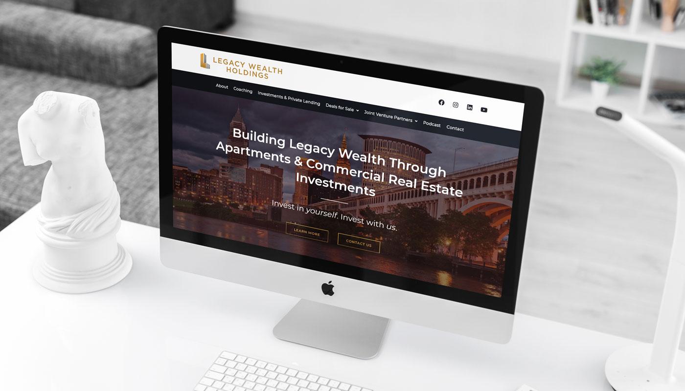 Legacy Wealth Holdings website